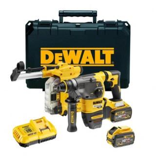 DeWALT DCH335X2-QW 54V XR FLEXVOLT SDS-PLUS Fúrókalapács készletben Minden termék