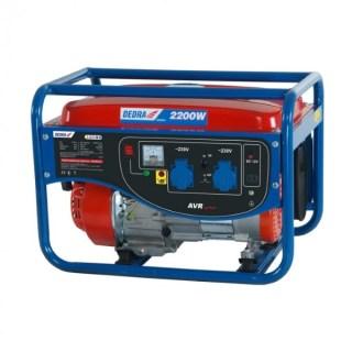Dedra DEGB2510 Áramfejlesztő generátor 2,0kw, max.2,2kw, 2x220v, 1x12v, 8,3a, Minden termék