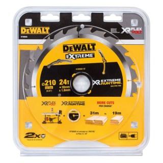DeWALT Körfűrészlap 210mm / 30mm (24 fogú) DT99565 Minden termék