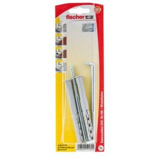 FISCHER S10RW Rögzitődűbel vinklikampó bliszter Minden termék