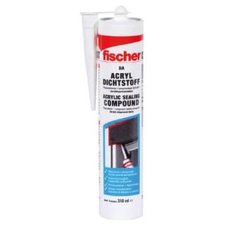FISCHER DA fehér 310ml akril tömítőanyag Minden termék