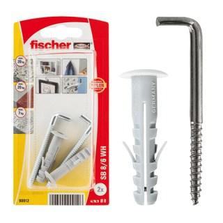 FISCHER Rögzítődübel kampóval SB8/6K Minden termék