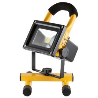 LED-es fényvető, akkumulátoros, hordozható, 10 W Minden termék