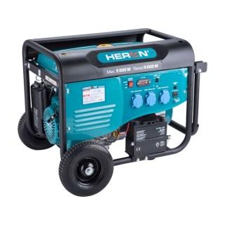 Benzinmotoros áramfejlesztő, max 5500 VA, egyfázisú, elektromos önindítóval Minden termék