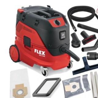 FLEX  VCE 33 L MC  Ipari porszívó kézi szűrő tisztítással, 30 l, L osztály Minden termék