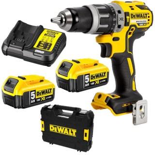 DeWALT 18V-os 5.0Ah XR Li-Ion kefe nélküli kompakt ütvefúró-csavarozó  DCD796P2-QW Minden termék