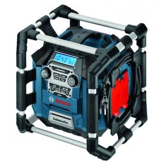 BOSCH GML 20 PowerBox Akkus rádió 20W (14,4V–18V) (Akku és töltő nélkül!) Minden termék
