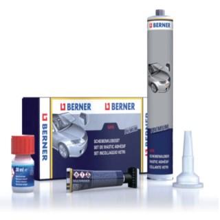 BERNER Szélvédőragasztó készlet PREMIUM Safe 310 ml Minden termék