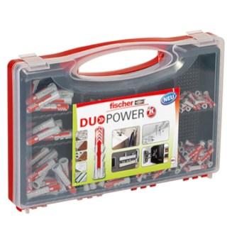 FISCHER Red-Box DUOPOWER dübel készlet 280 db-os Minden termék