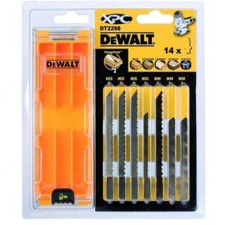 DeWALT DT2298-QZ Dekopírfűrészlap 14db/csomag Dekopírfűrészlap