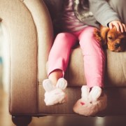 Custody Attorney in Rockville Maryland girl with slippers