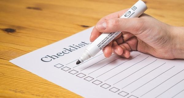 Checklist for a Small Business