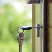 Property Division in Divorce Keys in Front Door