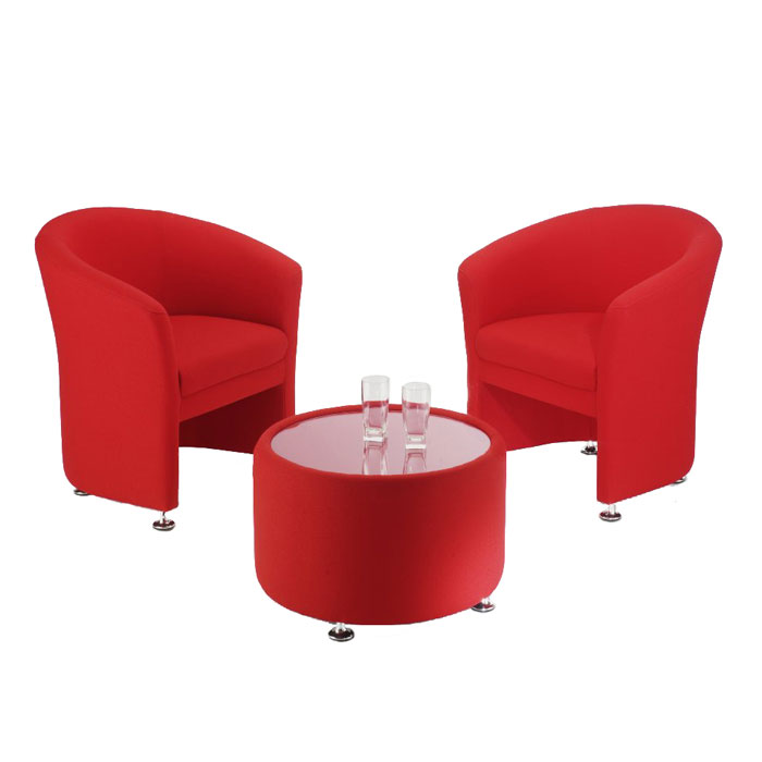Reception Tub Chairs On Chrome Feet Office Tub Chair Reception Furniture Set