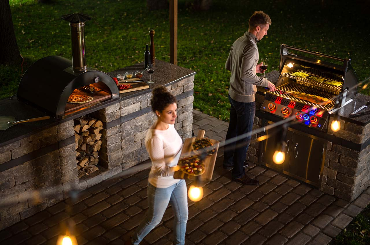 Harvest Grove Napolean BBQ and Harvest Grove Compact Pizza Oven