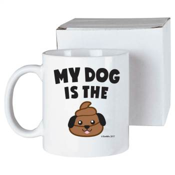 My Dog Is the Poop - mug