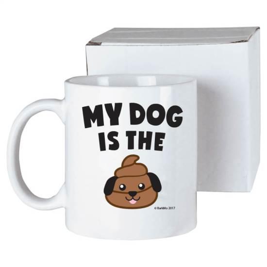 My Dog Is the Poop - mug