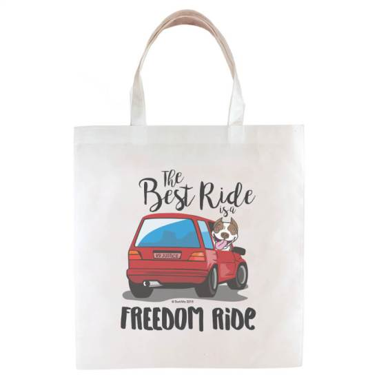 The Best Ride is a Freedom Ride Swag Bag