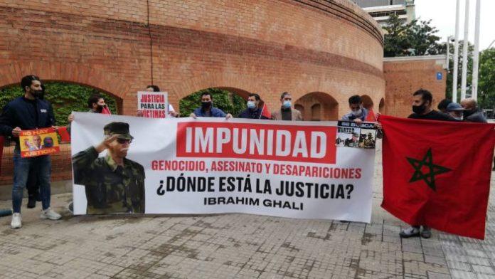 Espagne : des acteurs associatifs à Gérone réclament l'arrestation de Brahim  Ghali – Barlamane