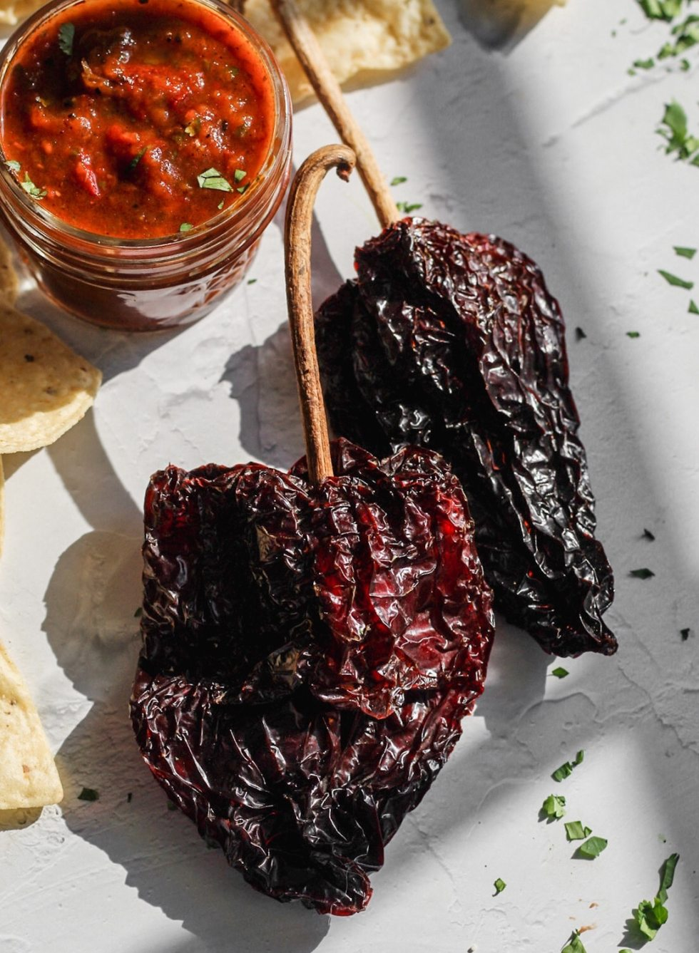 dried ancho chilies