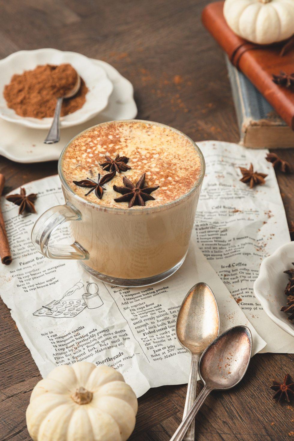 brown sugar pumpkin spice latte