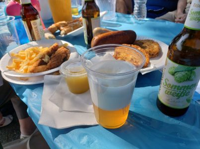 Volksfest: Drinking German Beer In The Sun