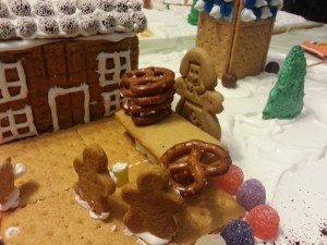 Gingerbread House of Oktoberfest beer vendor