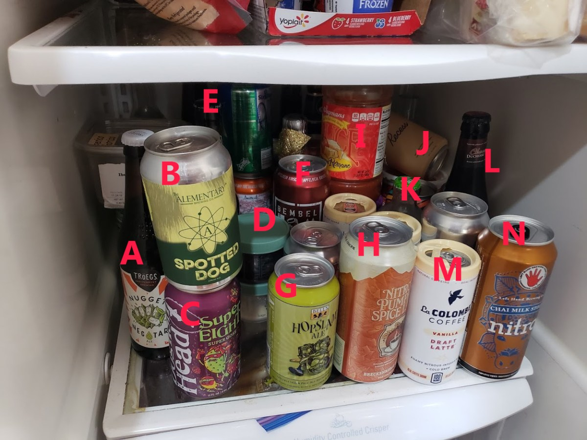 A Quick Look Inside My Fridge