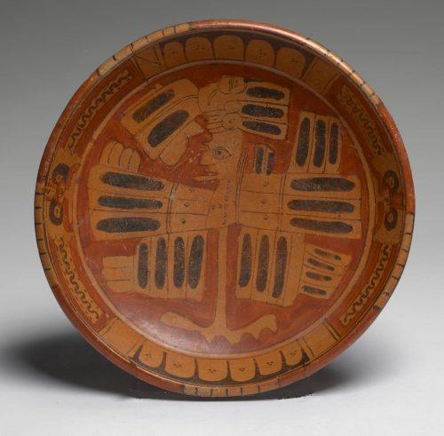 Mayan Plate