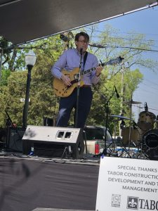 Barlow Performing at Cotton District Arts Festival