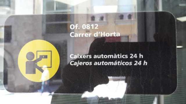Oficina 0812 Calle de Horta. Cajeros automáticos 24 horas.