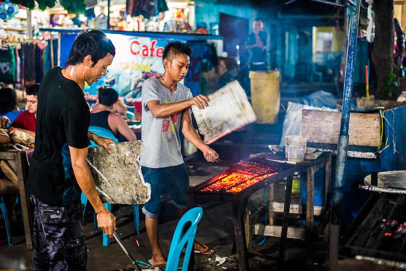 Nightmarket Gili Trawangan