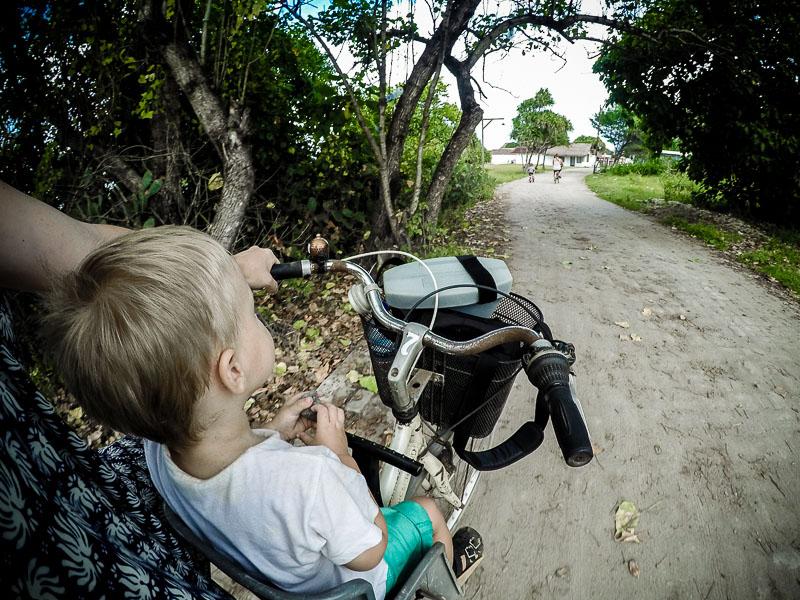 Cykelstol Gili Trawangan rundt