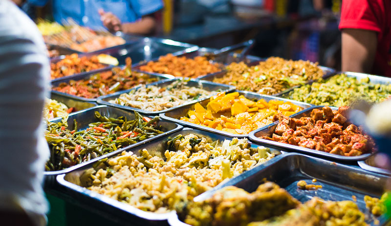 Night Market buffet