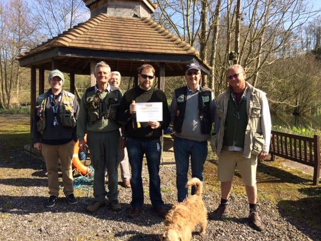 Troutmasters fish off winner 2017 Charlie Tonkinson