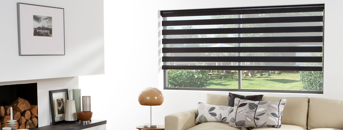 Vision Blinds for the living room from Barnes Blinds in Stoke-on-Trent