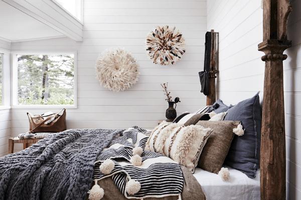 autumn bed linen ideas