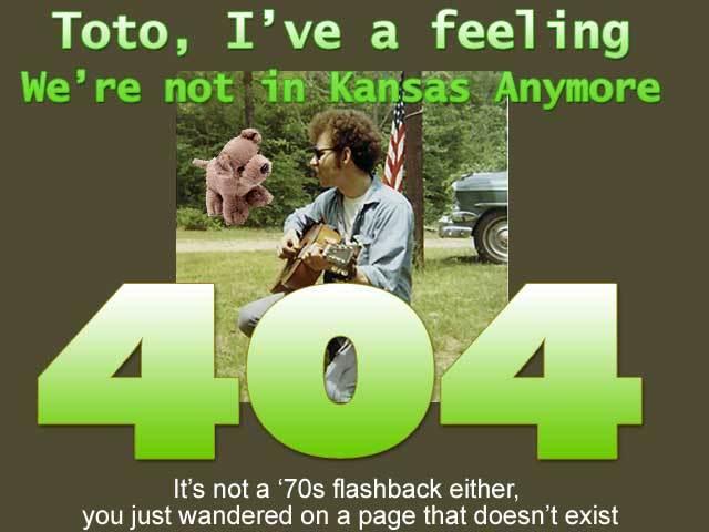 Barney DaveyCustom 404 Page
