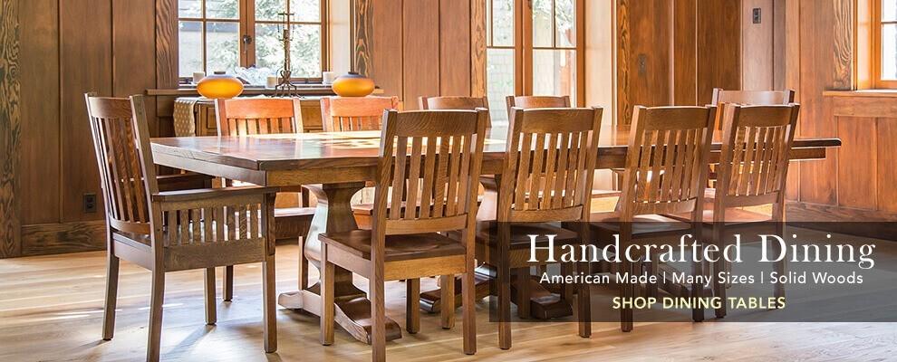 amish furniture fine oak wood