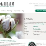 Barnhardt Bleached Cotton Homepage
