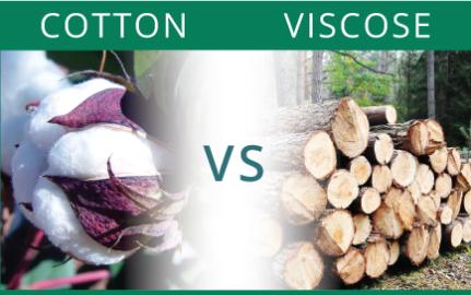 cotton vs. viscose