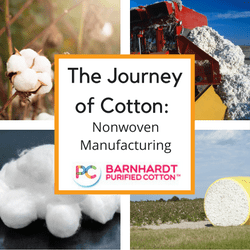 The Journey of Cotton- Nonwoven Manufacturing & Conversion into final products