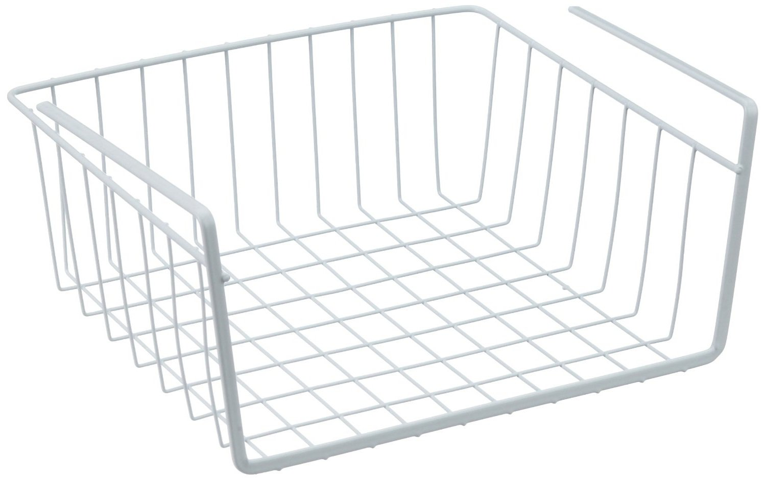 Metaltex White Under Shelf Storage Basket 30cm At Barnitts