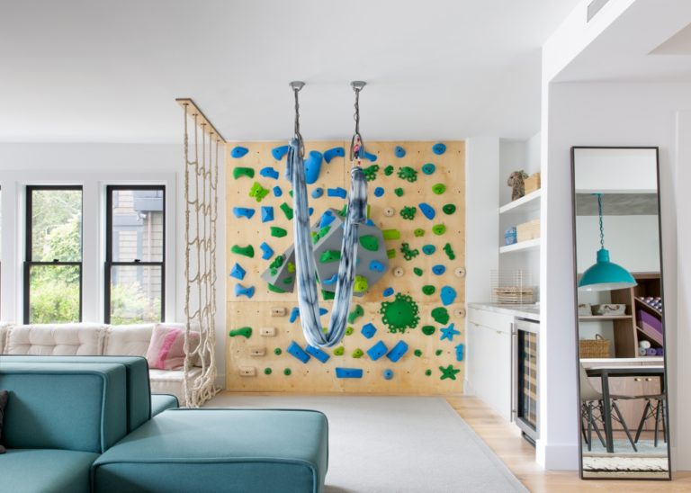 lends fun element to kids craft room