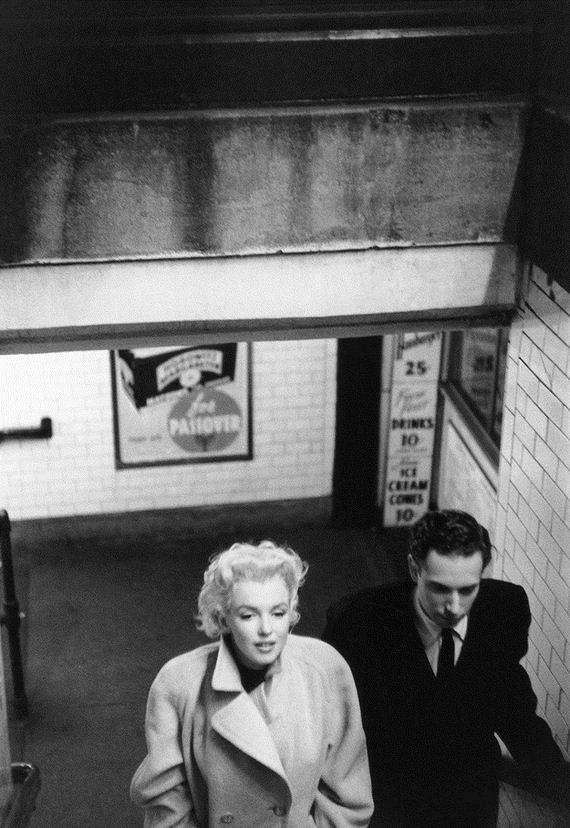 Candid Photos Of Marilyn Monroe In New York Barnorama
