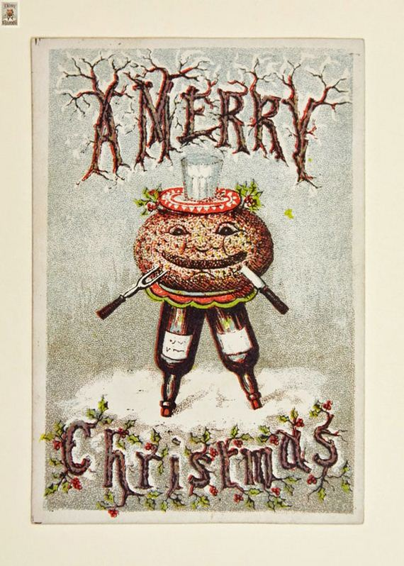 So Vintage Christmas Cards Are Completely Insane Barnorama