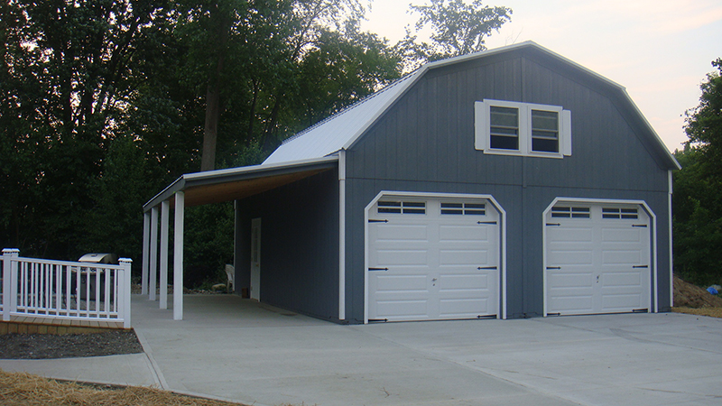 2 Story 2 Car Garages The Barn Raiser