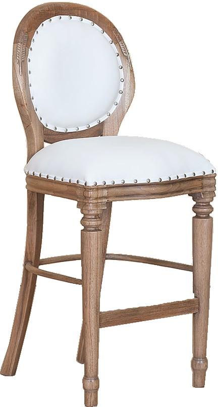 chaise de bar medaillon