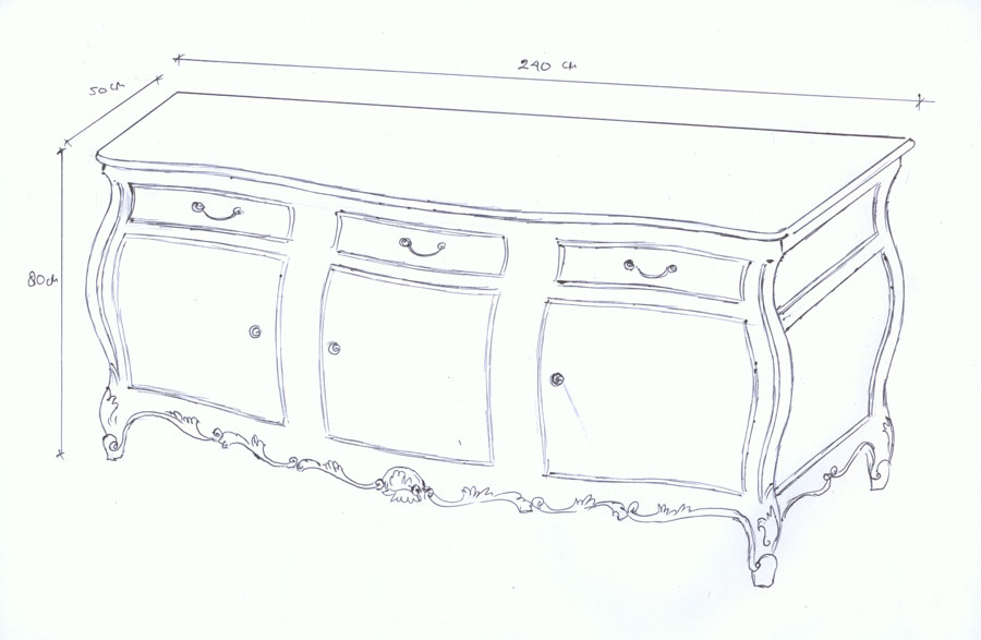 Meuble Baroque Design Fauteuil Baroque Chevet Baroque