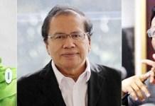TRIO MENTERI DI KABINET GUS DUR: (Dari kiri) Khofifah Indar Parawansa, Rizal Ramli dan Mahfud MD. Tiga menteri di era Kabinet Gus Dur. | Foto: Ist